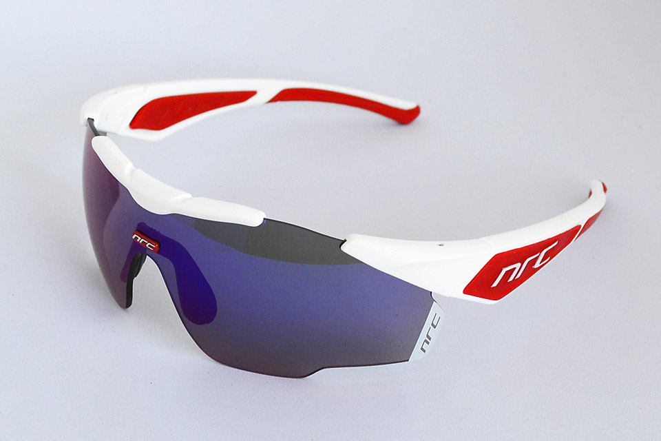 X1 ALPED' HUEZ/GRAY with RED MIRROR