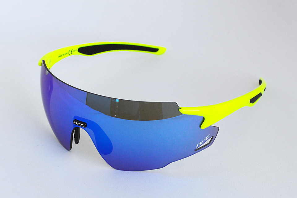 P-PRIDE YELLOW/GRAY with BLUE MIRROR