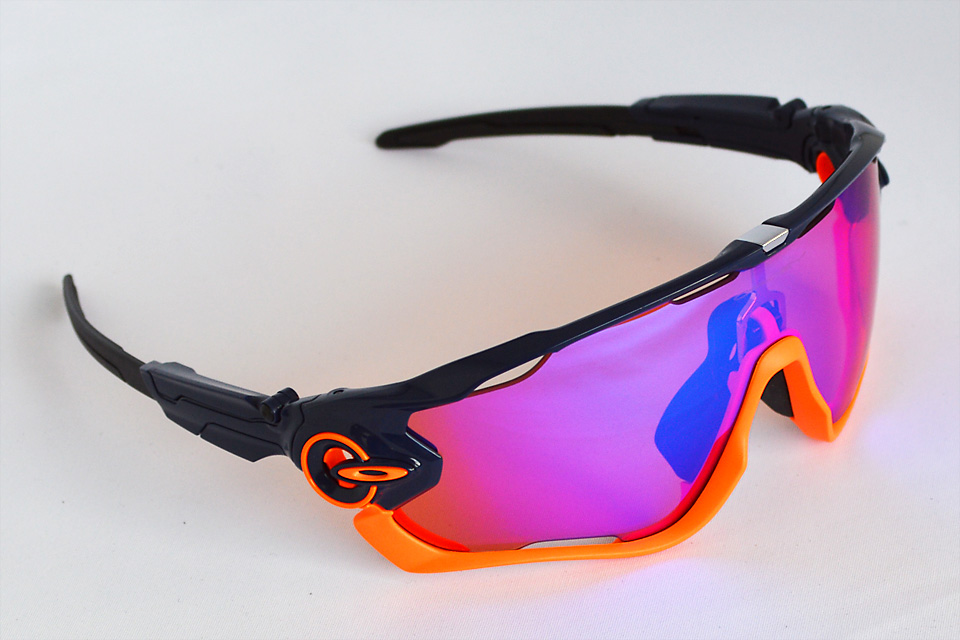 Jawbreaker oce Plished Navy/matte Neon Orange/Prizm Trail