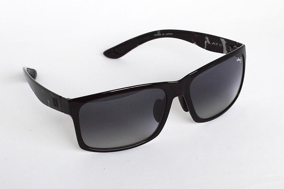 FLAT07 グロスブラック/ブラックデミ / グレーハーフ